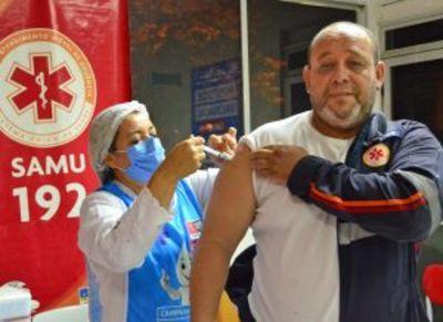Mais de 3 mil profissionais de saúde foram vacinados contra a Covid-19, em João Pessoa