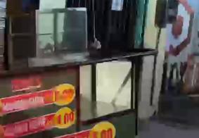 Vítima e namorada se preparavam para vender os alimentos