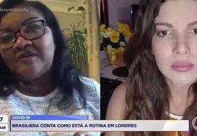 Brasileira conta como está a rotina em Londres diante da pandemia do novo coronavírus; assista