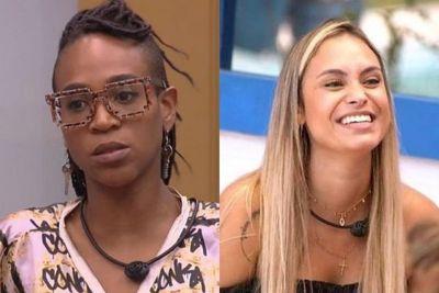 BBB21: Karol Conká diz que Sarah se escora em Gilberto