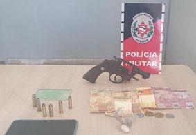 Suspeito de cometer assaltos em João Pessoa é preso no Litoral Norte da PB