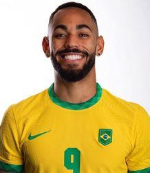 Matheus Cunha, atacante da seleção brasileira de futebol