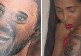 Irmã de Gil faz tatuagem com rosto do brother e internautas criticam