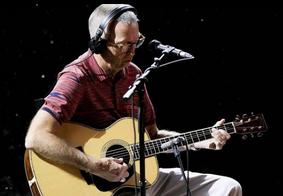 Eric Clapton disse que em maio foi vacinado contra a Covid-19
