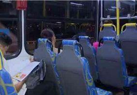 Motorista de ônibus foi ameaçado com faca por assaltante, diz Sintur-JP