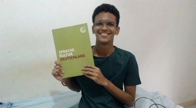 De família humilde, Felipe se formou no curso técnico de Geologia