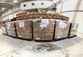 Paraíba recebe mais de 48 mil sabonetes para combate à Covid-19