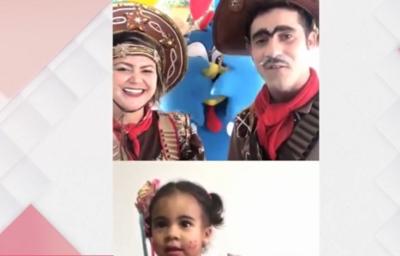 Escolas fazem festa junina online para manter tradição