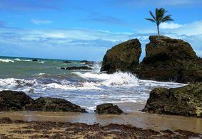 Praia de Tambaba, no Litoral Sul da Paraíba