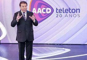 Silvio Santos volta a gravar no SBT após três semanas afastado,