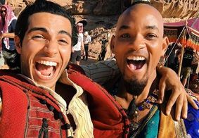 Will Smith vai ao cinema escondido para ver 'Aladdin', mas acaba reconhecido pelo público