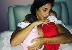 Ivete Sangalo revela como escolheu os nomes das filhas gêmeas