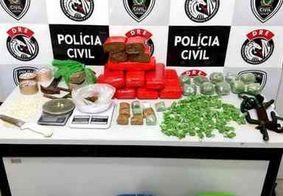 Polícia Civil apreende mais de 13 quilos de drogas durante operação em Campina Grande