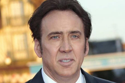 Nicolas Cage passou o Réveillon em bar pagando bebidas para desconhecidos