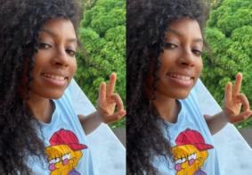 Lumena posta primeira selfie pós-reality: 'Muito conteúdo chegando'