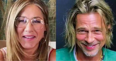 Brad Pitt e Jennifer Aniston reencenam roteiro de filme dos anos 1980