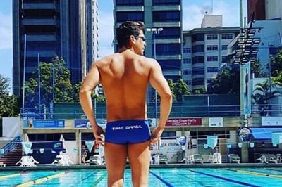 Campeão mundial de natação, paraibano Kaio Márcio anuncia aposentadoria