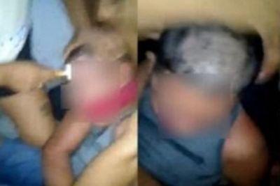 Mãe raspa cabelo e sobrancelha de filho e é indiciada por tortura