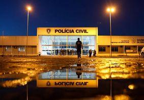 Central de Polícia Civil da Paraíba, em João Pessoa.