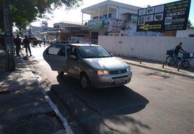 Tia e sobrinho estão envolvidos em execução no bairro de Mangabeira, diz polícia