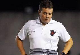 Evaristo Piza não é mais técnico do Botafogo-PB; saiba mais