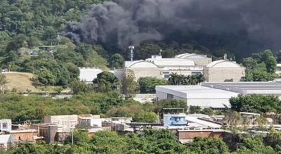 Princípio de incêndio atinge estúdios da Globo