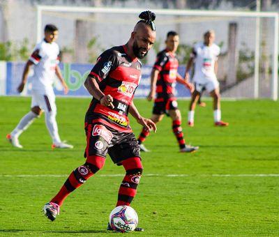 Sérgio Paulista foi autor de um dos gols da vitória sobre o Caucaia, no domingo