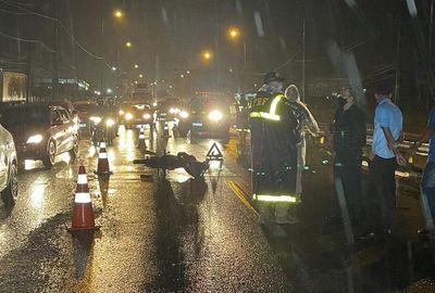 Morre motociclista atropelada por ônibus em João Pessoa