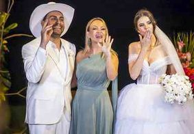 Programa Eliana exibe momentos do casamento de Mano Walter com exclusividade