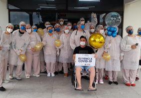 Hospital da Paraíba celebra mil altas de pacientes curados da Covid