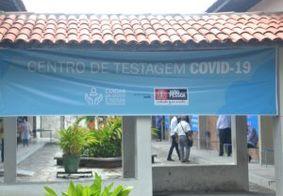 Centros já realizaram mais 1,3 mil testes de Covid-19 na capital paraibana