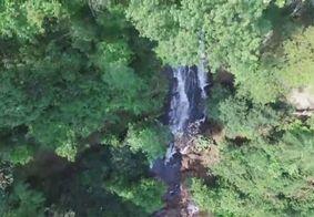 Jovem morre após fazer selfie em cachoeira com mais de 10 metros e cair