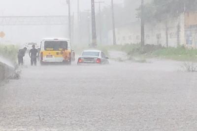 Centro de Monitoramento emite novo alerta de 'risco alto' de chuvas em JP