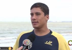 Nadador Átila Brandão é uma das referência da PB na maratona aquática