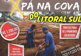 Pá na Cova: anúncio de torneio de 'coveiro mais rápido' na PB viraliza nas redes sociais