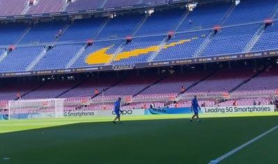 Partida acontece no Camp Nou