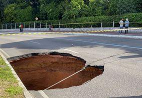 Obras de reparação na Avenida Pedro II devem durar 10 dias, diz Seinfra