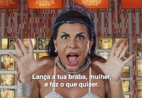 Gretchen grava brega funk para campanha contra importunação sexual; confira