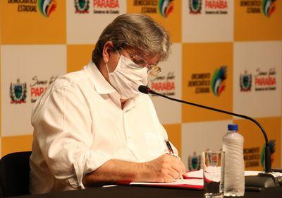Governador da Paraíba, João Azevêdo (Cidadania)