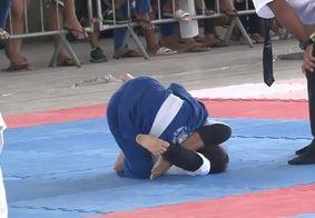 Atletas representam a Paraíba em campeonato regional de jiu jitsu