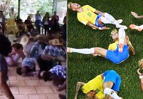 'Olha o Neymar!': quadrilha junina cria novo 'passo' e viraliza nas redes sociais
