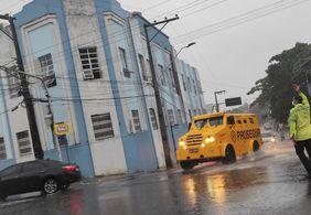 Chove 150 milímetros em 24h, em João Pessoa, diz Defesa Civil