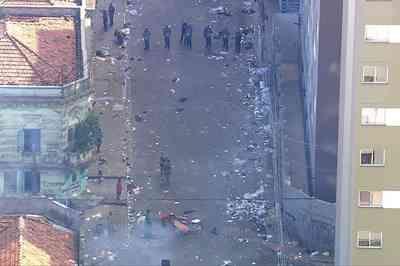PM é baleado durante operação na cracolândia, em São Paulo