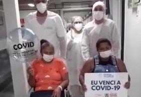 Mãe e filha recebem alta juntas após recuperação da Covid na Paraíba
