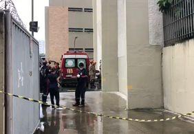 Trabalhador morre ao cair de prédio de 30 metros, em João Pessoa