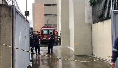 Acidente de trabalho ocorreu em prédio próximo à Avenida Epitácio Pessoa