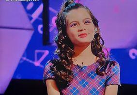 Paraibana conquista quase 100 jurados e garante vaga na semifinal do 'Canta Comigo Teen'; veja