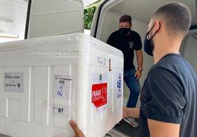 Paraíba distribui mais de 100 mil doses de vacinas nesta quarta (20)