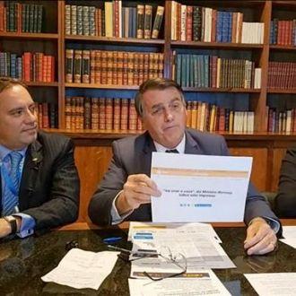 """Bolsonaro: """"Se não tiver voto impresso, sinal que não vai ter eleição"""""""