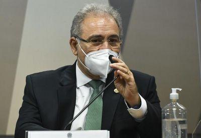 """Queiroga diz que nunca tomou cloroquina ou ivermectina, """"eu tomei vacina"""""""